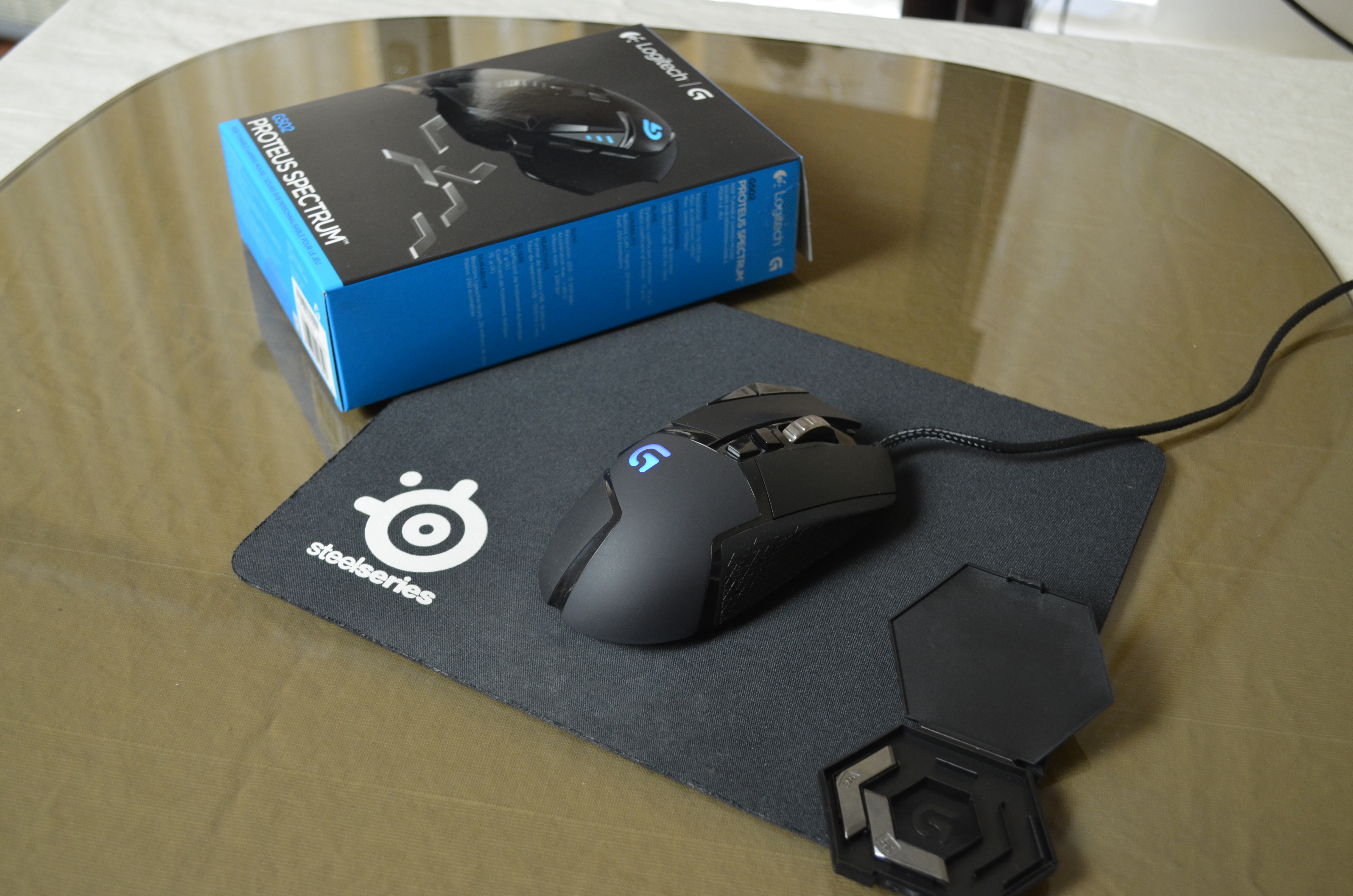 0fb5c51ff67 Logitech G502 Proteus Spectrum RGB Tunable Gaming Mouse Review - My ...