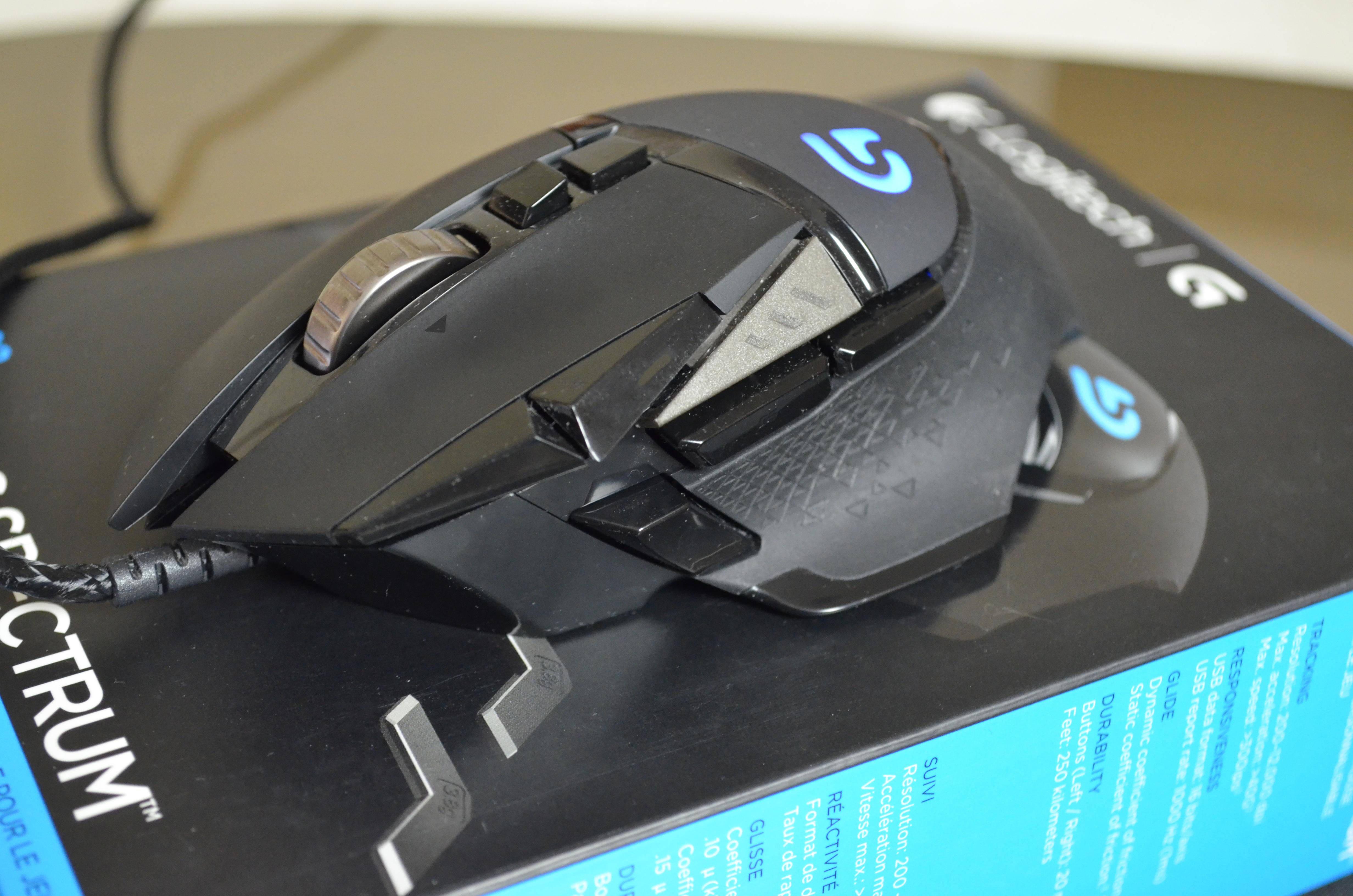 a107de294d2 Logitech G502 Proteus Spectrum RGB Tunable Gaming Mouse Review - My ...
